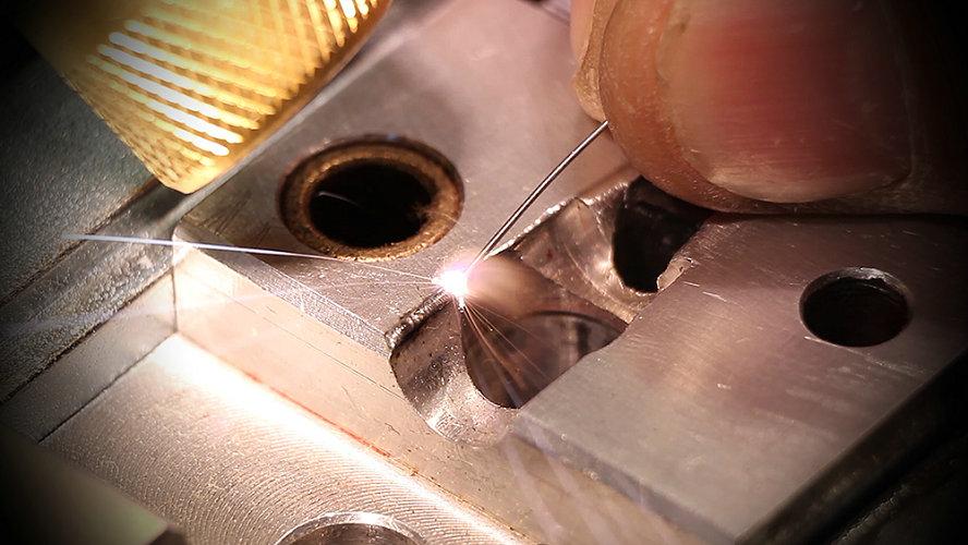 mold laser welding repairing