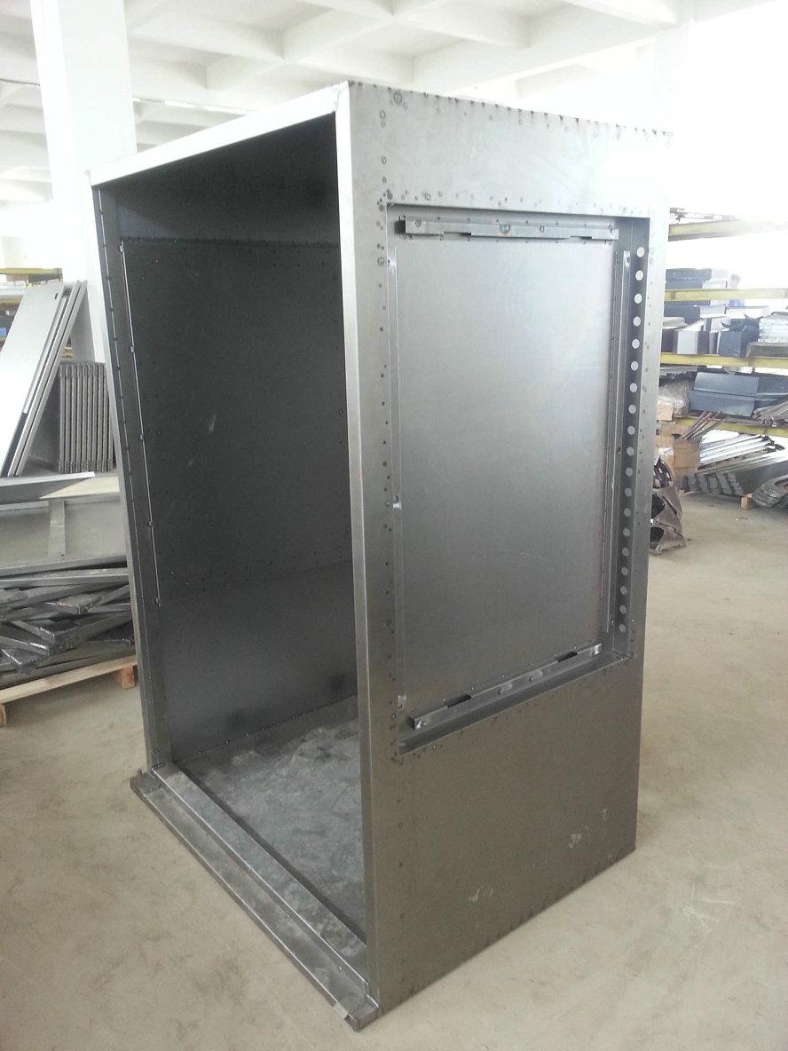 metal cabine laser welding1