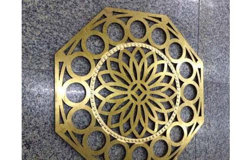 铜片工艺激光切割应用
