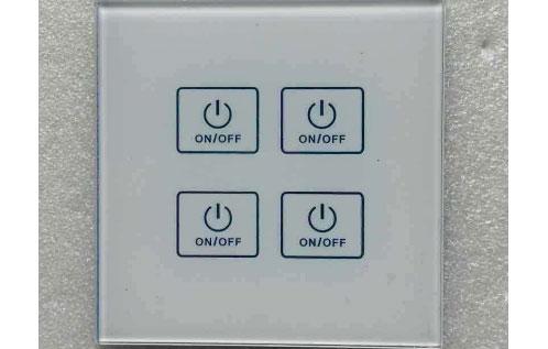 面板开关激光标记