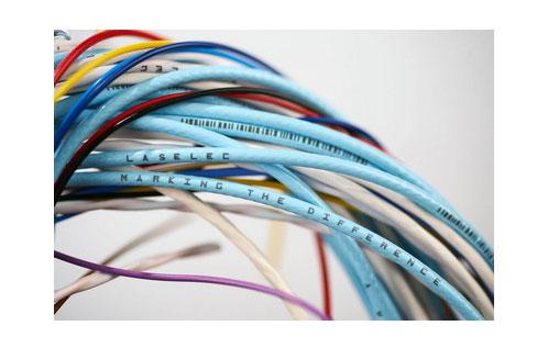 电缆激光打标